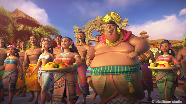 Rey de Cebu-personaje 3d